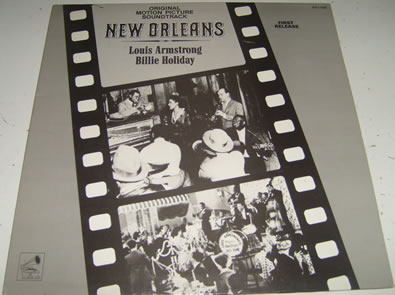 New Orleans - Louis Armstrong/Billie Holiday 12 Inch Vinyl
