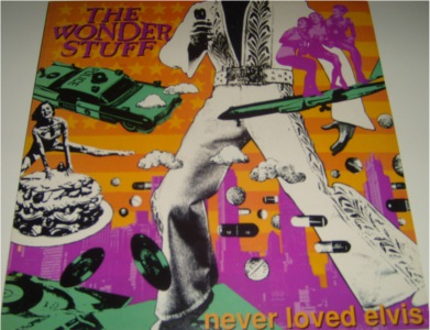 The Wonder Stuff - Never Loved Elvis 12 inch vinyl
