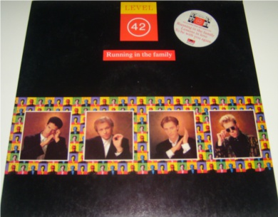 Level 42 - Running In The Family 12 inch vinyl