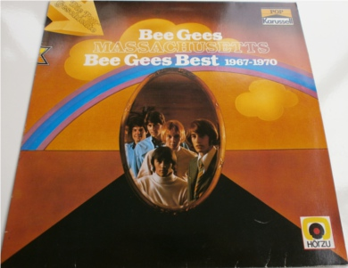 Bee Gees - Massachusettes Bee Gees Best 1967-1970 German copy 12 inch vinyl