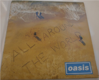 Oasis - All Around The World 7 Inch Vinyl