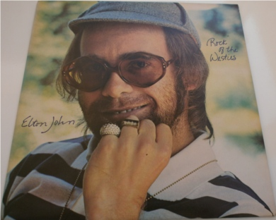 Elton John - Rock Of The Westies 12 inch vinyl