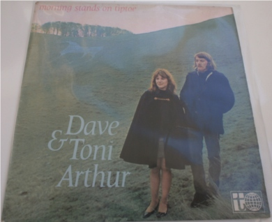 Dave & Toni Arthur - Morning Stands On Tiptoe 12 inch vinyl