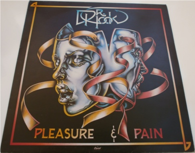 Dr Hook - Pleasure & Pain 12 inch vinyl