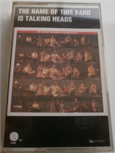 Talking Heads - The Names Of This Band Is - Cassette Tape