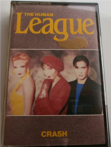 The Human League - Crash - Cassette Tape