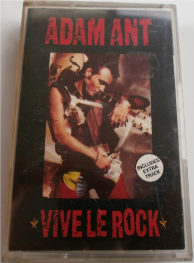 Adam Ant - Viva Le Rock - Cassette Tape