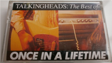 Talking Heads - Once In A Lifetime - Cassette Tape