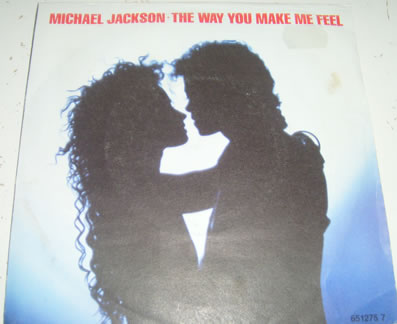 Michael Jackson - The Way You Make Me Feel 7 inch vinyl