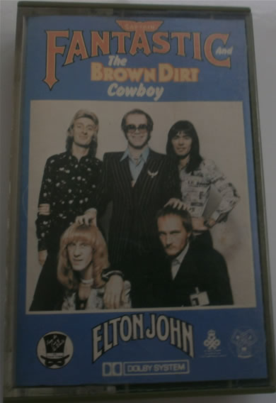 Elton John - Captain Fantastic The Dirt Brown Cowboy - Cassette Tape