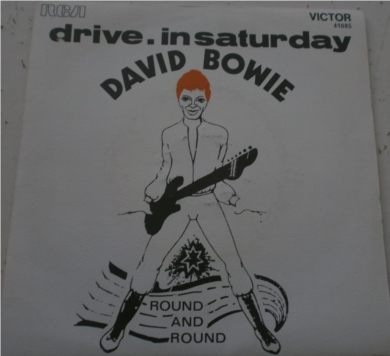 David Bowie - Drive In Saturday 7 Inch Vinyl