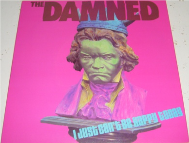 The Damned - I Just Can't Be Happy Today 7 Inch Vinyl