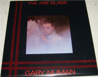 Gary Numan - We Are Glass 7 inch vinyl