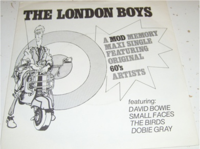 The London Boys - A Mod Memory Maxi E.P 7 inch vinyl