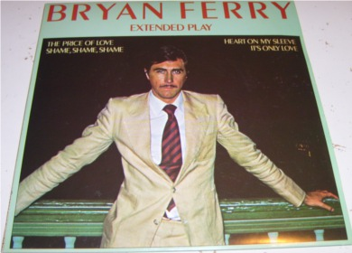 Bryan Ferry - Price Of Love E.P 7 Inch Vinyl