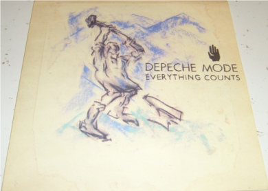 Depeche Mode - Everything Counts 7 inch vinyl