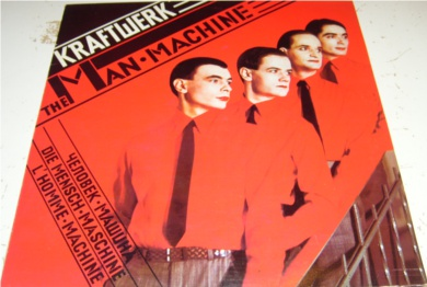 Kraftwerk - The Man Machine 12 inch vinyl