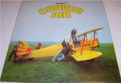 Curved Air - The Best Of 12 inch vinyl