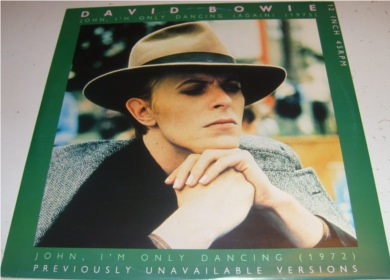 David Bowie - John Im Only Dancing 12 inch vinyl