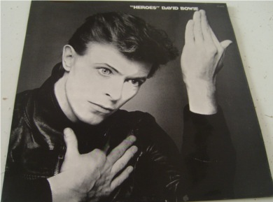 David Bowie - Hero's 12 inch vinyl