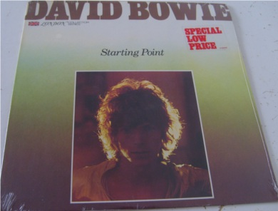 David Bowie - Starting Point - Mint in plastic un-opened 12 inch vinyl
