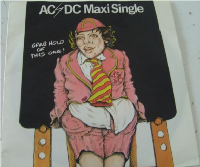 AC/DC - Dirty Deeds Done Dirt Cheap 7 Inch Vinyl