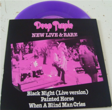 Deep Purple - New live & Rare Purple 7 Inch Vinyl