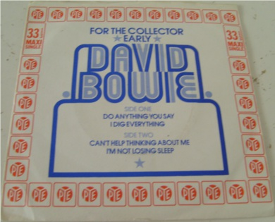David Bowie - Do Anything You Say 7 inch vinyl