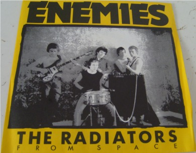 The Radiators From Space - Enemies 7 Inch Vinyl