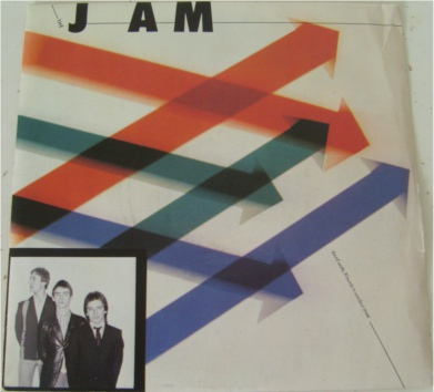 The Jam - A Bomb In Wardour St 7 Inch Vinyl