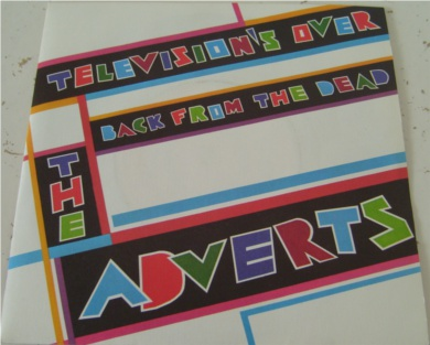 The Adverts - Televisions Over 7 Inch Vinyl - Mint