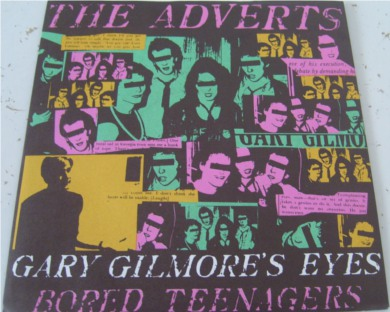 The Adverts - Gary Gilmores Eyes 7 Inch Vinyl - Mint