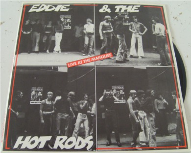 Eddie & The Hot Rods - Live At The Marquee 7 Inch Vinyl