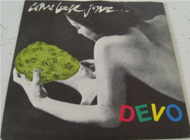 Devo - Come Back Jonee 7 Inch Vinyl