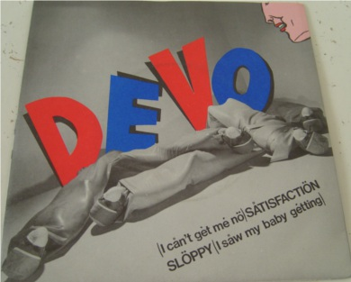 Devo - (I Can't Get Me No) Satisfaction 7 Inch Vinyl