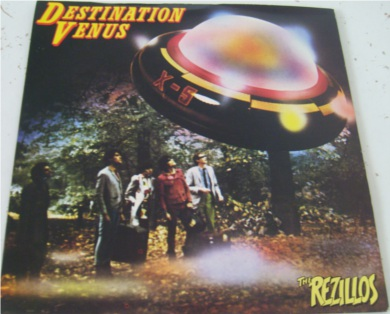 The Rezillo's - Destination Venus 7 Inch Vinyl