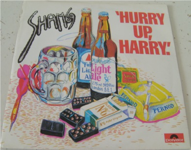 Sham 69 - Hurry Up Harry 7 Inch Vinyl