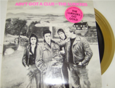 The Lurkers - Aint Got A Clue 7 Inch Vinyl