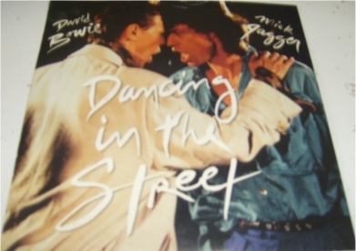 David Bowie & Mick Jagger - Dancing In The Street 7 inch vinyl