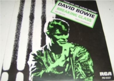 David Bowie - Breaking Glass 7 Inch Blue Vinyl