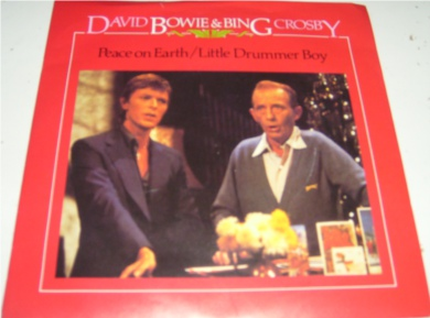 David Bowie & Bing Crosby - Peace On Earth 7 Inch Vinyl
