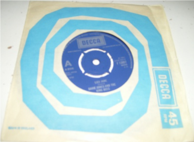 Davie Jones & The King Bees - Liza Jane 7 Inch Vinyl - 1964 f13807 mono