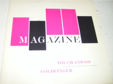 Magazine - Touch And Go 7 Inch Vinyl