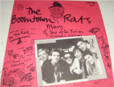 The Boomtown Rats - Mary Of The Forth Form 7 Inch Vinyl