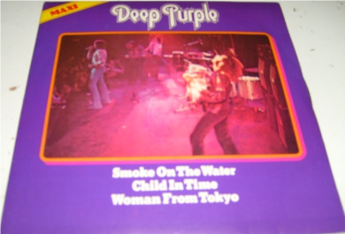 Deep Purple - Smoke On The Water 7 Inch Vinyl