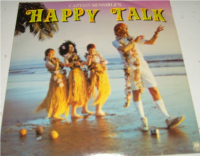 Captain Sensible - Happy Talk 7 Inch Vinyl