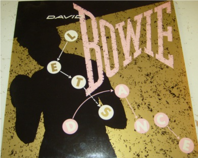David Bowie - Lets Dance 12 inch vinyl
