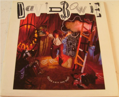 David Bowie - Never Let Me Down 12 inch vinyl