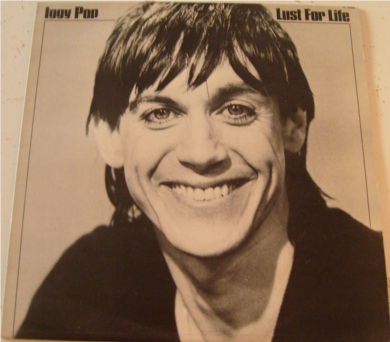 Iggy Pop - Lust For Life 12 inch vinyl