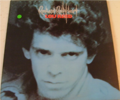 Lou Reed - Rock n Roll Heart 12 inch vinyl